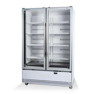 Skope BME1200N-A 2 Door Display Fridge