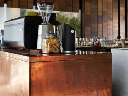 The Arcus Custom Coffee Station at Strange Company in Fremantle