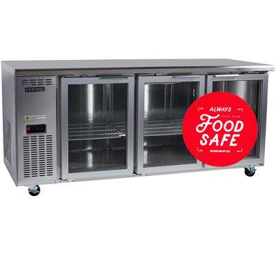 commercial fridges  sc 1 st  Arcus Australia & Centaur Glass Door Under Counter Chillers u0026 Freezers   Arcus Australia