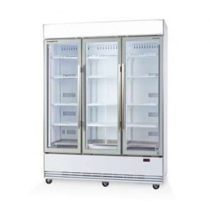 Skope BME1500N-A 3 Door Display Fridge