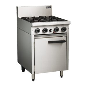 Cobra CR6D Commercial Oven Range with 4 Burner Cooktop