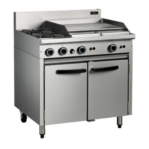 Cobra CR9B Commercial Oven Range with 2 Burner Cooktop and 600mm Griddle