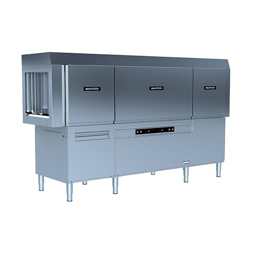 Washtech-CDE240-Commecial-Dishwasher